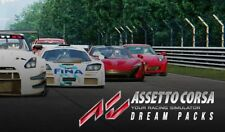 Assetto Corsa + Dream Packs 1 2 & 3 Steam Key Pc Game Code Download Global