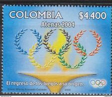 O) 2004 COLOMBIA, SUMMER OLYMPICS ATHENS, MNH