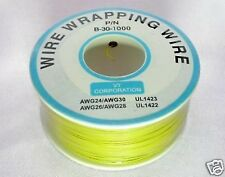 Prototype Wire wrap cable 30AWG 30# 300M Yellow XBOX360