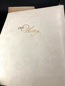 Vintage Wedding Photo Album From 1960's Unused - Made in USA