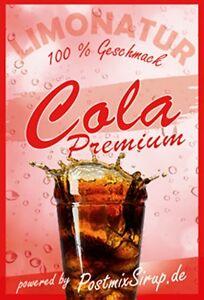 Premium Cola A  - Postmix - Sirup - Getränkesirup - 10l BiB (5,50€/L)
