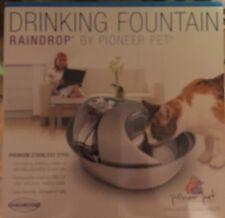 Pioneer Pet Raindrop  Stainless Steel Drinking Fountain
