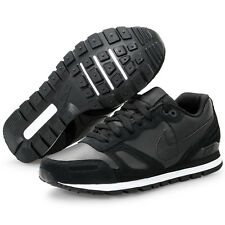 Nike Air Waffle Trainer Leather Premium Neu Gr:38,5 Schwarz Sneaker 90 95 97 R4