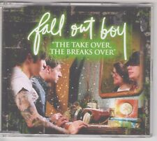 Fall Out Boy - The Take Over, The Breaks Over - Australian 4 Track CD Single