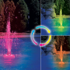 Swimline Swimming Pool Color Changing LED Fountain Water Feature