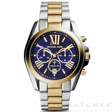 Michael Kors MK5976 Bradshaw Two Tone Stainless Steel Chronograph Mens Watch