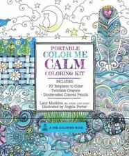 Portable Color Me Calm Coloring Kit: Includes Book, Colored Pencils and Twistabl