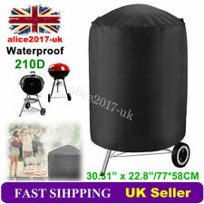 """30"""" Garden Patio Kettle BBQ Grill Barbecue Round Smoker Cover Waterproof 77x58cm"""