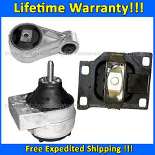 0170 Motor & Trans Mount Set for 2000-2004 Ford Focus DOHC 2.0L Except SVT Model