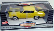 ERTL 1/18 1970 Chevy Chevelle SS454 LS6 Sunflower YELLOW 7190 American Muscle 70