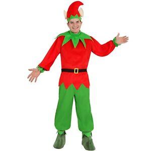 thematys Costume da Elfo Natalizio per Donna Carnevale e Cosplay 110cm, Donne Perfetto per Natale Uomo e Bambino