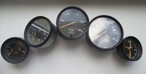 Porsche 911 instrument cluster clocks gauges kombiinstrument dzm speed 1976 1977