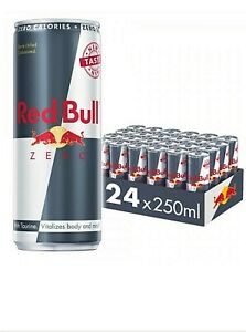 Red Bull Energy Drink Zero 24x 250ml Cans