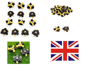 16 x Replacement Golf Shoe Spikes Champ Cleat Screw in Studs UK stock