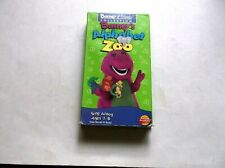BARNEY'S ALPHABET ZOO VHS