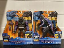 (LOT OF 2) GODZILLA VS. KONG Playmates Hong Kong Battle Set