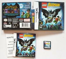 Lego Batman The Video Game (Nintendo DS, 2008) COMPLETE VIDEO GAME ORIGINAL