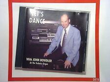 John BowdlerLet's Dance Technics GA3 Organ CD Nr Mint