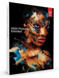 Adobe Photoshop CS6 Extended - Windows - Mac Vollversion