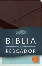 RVR 1960 Biblia Del Pescador, Chocolate Símil Piel : Evangelismo Discipulado Min