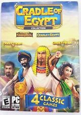 Cradle of Egypt 4 pack Collection  (PC, 2013) New sealed!!    PC CD-ROM GAME!