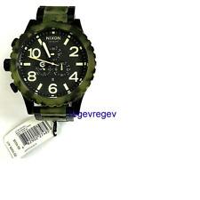 New GENUINE Nixon Watch 51-30 Chrono Matte Black Camo A083-1428 A0831428