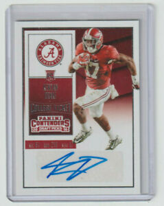 KENYAN DRAKE Alabama SIGNED 2016 Contenders COLLEGE TICKET AUTOGRAPH SP RC AUTO