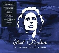 GILBERT O'SULLIVAN THE ESSENTIAL COLLECTION 2 CD (VERY BEST OF / GREATEST HITS)