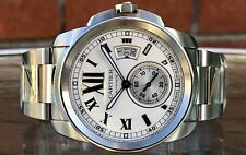 Cartier Calibre de Cartier W7100015 3389 Stainless Steel Automatic Wristwatch
