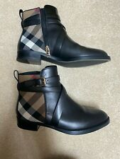 Burberry Vaughan Flat Ankle Boot - House Check