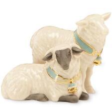 LENOX FIRST BLESSING NATIVITY ~ Pair of SHEEP Figurine ~  Lamb NIB
