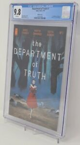Department of Truth #1 CGC 9.8 1:100 Variant SIKTC Homage Cover
