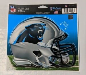 "Carolina Panthers Helmet 5"" x 6"" Multi Use Decal Static Cling - Truck Car Window"