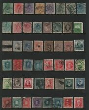 SPAIN - VERY EARLY SELECTION of 80 stamps (2 HANGERS)