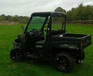 Polaris Ranger 570 AWD Cab UTV ATV  Price includes 1/2 Cab.