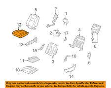 Rear Honda Genuine 82131-SJC-A01ZC Seat Cushion Trim Cover Right