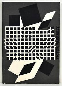 """Victor Vasarely: """"Geh durch den Spiegel"""" Folge 17/1959. Mit 3 O.-Siebdrucken."""