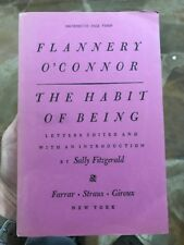 THE HABIT OF BEING / Flannery O'Connor UNCORRECTED PROOF / 1978 1st EditIon Rare