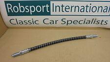 Triumph TR7 TR8 ** Flexible BRAKE HOSE FRONT ** Pair Rubber