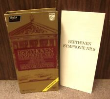 BEETHOVEN Janet Price cassette tapes set Symphony No 9 in D Minor 1980 choral