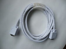 VGA/SVGA HD15 Male to Female Laptop Monitor or Extension Cable 3M High Quality
