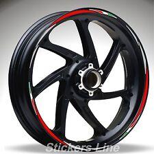 Adesivi ruote moto strisce cerchi DUCATI STREETFIGHTER Racing 4 stickers wheel