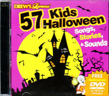 57 kids halloween songs stories sounds cd bonus virtual ghoul logcasper dvd