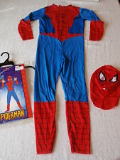 Disguise Marvel Spiderman Child Halloween Costume Boy 7-10 2 Piece Character