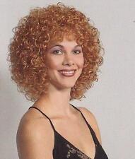 Short Light Ginger Wig w/ Medium Spiral Curls - Lucy