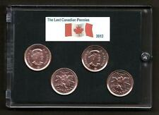 2012 Canadian Pennies Commemorative Collection Set