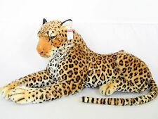 PLÜSCHTIER PLÜSCH LEOPARD - liegend - 60 cm - NEU - Kuscheltier Plüschleopard