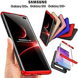 COVER per Samsung Galaxy S10 / S10e / S10 Plus Fronte Retro 360° ORIGINALE ARMOR