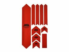Honeycomb XL protection frame guard set red All Mountain Style bike frame