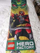 LEGO Hero Factory visualizzano panno tessuto banner pubblicitari 200 x 58 cm